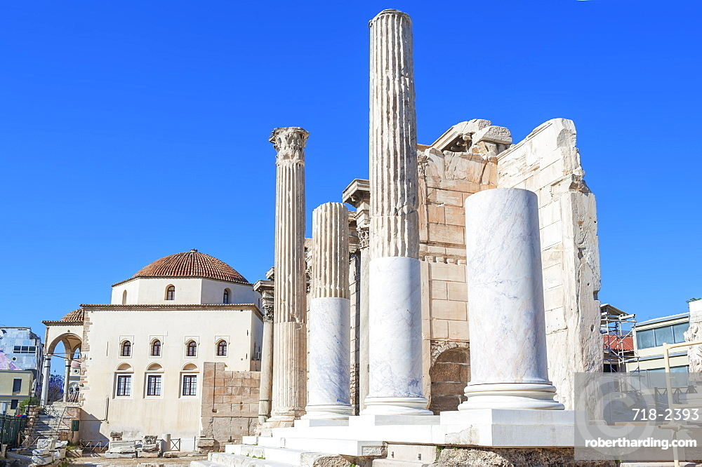 Library of Hadrian, Athens, Greece, Europe
