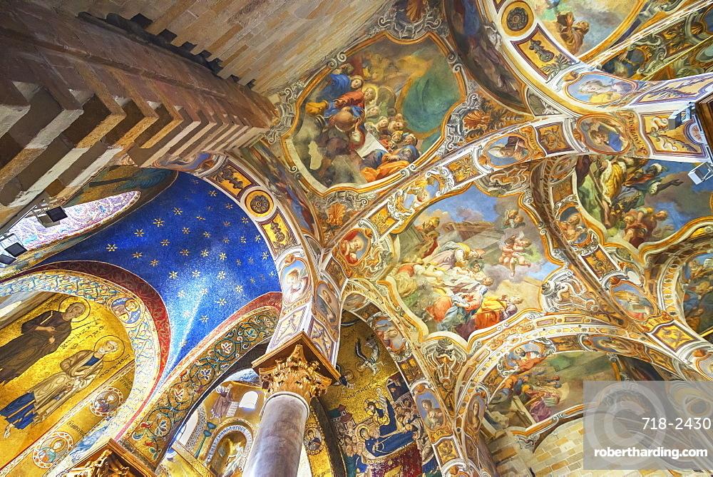 La Martorana Church, Palermo, Sicily, Italy, Europe