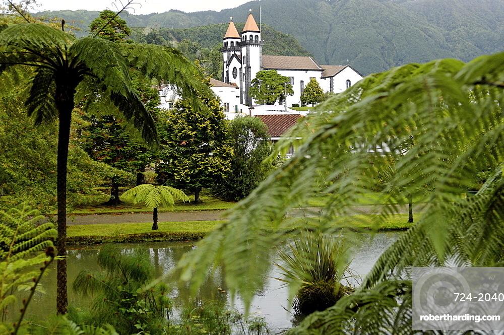 Terra Nostra Garden, Furnas, Sao Miguel Island, Azores, Portugal, Europe