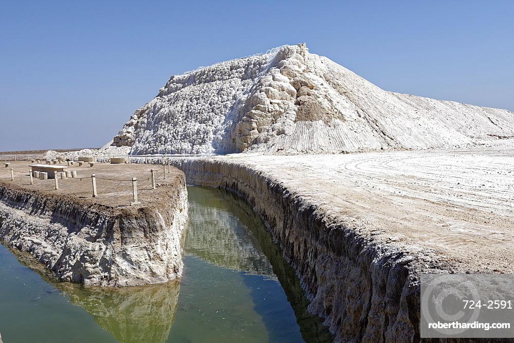 Khour salt lake, Iran, Middle East