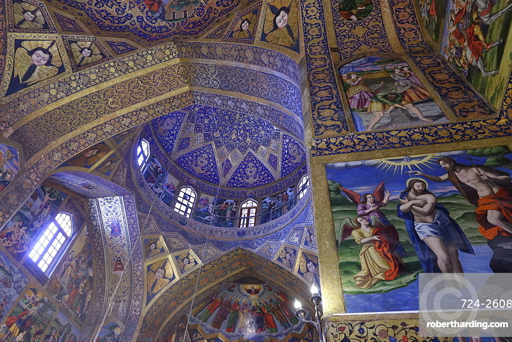 The Holy Savior Armenian Cathedral, Isfahan, Iran, Middle East