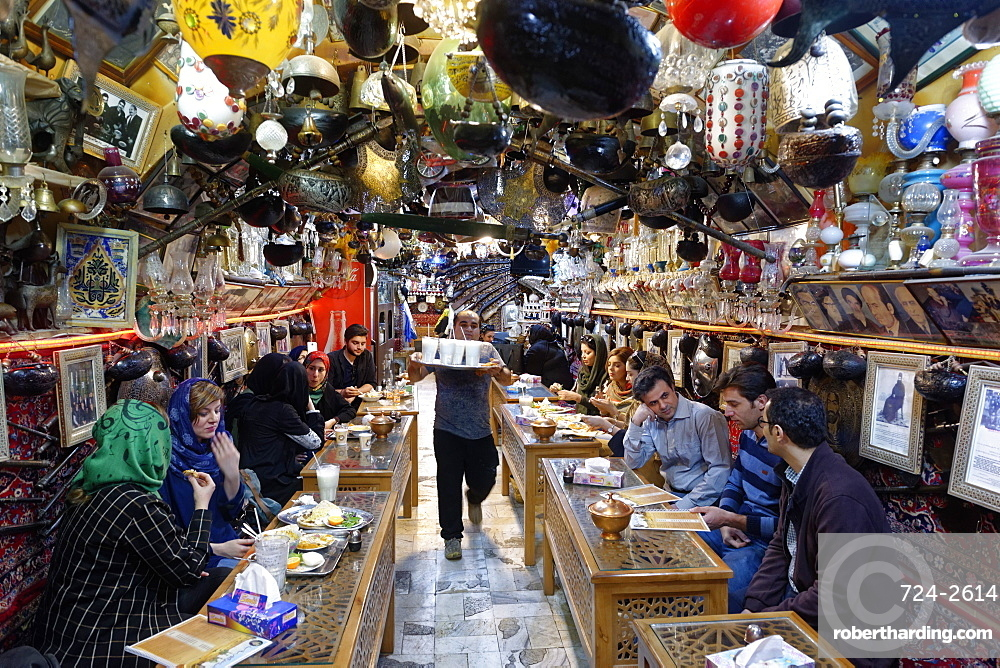 Restaurant, Isfahan, Iran, Middle East
