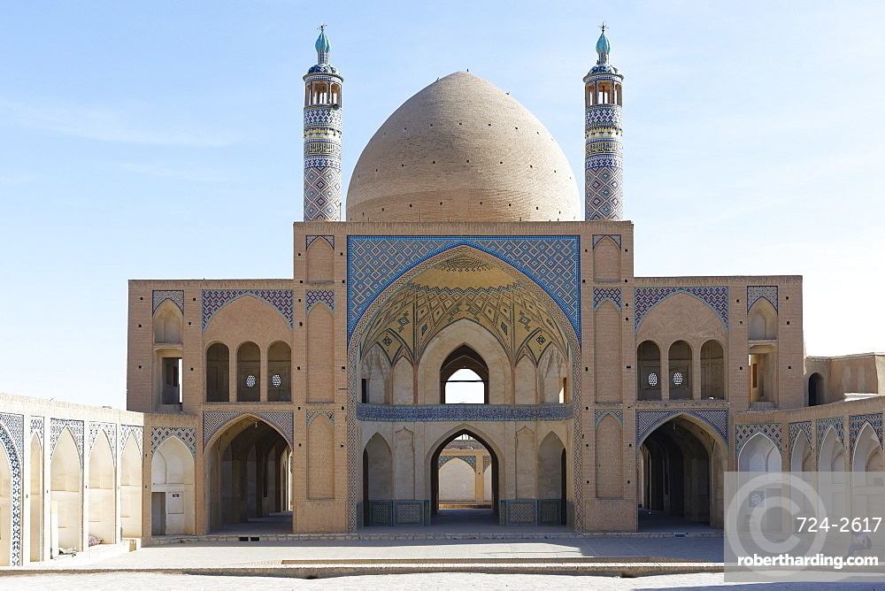 Agha Bozorg Mosque, Kashan city, Iran, Middle East