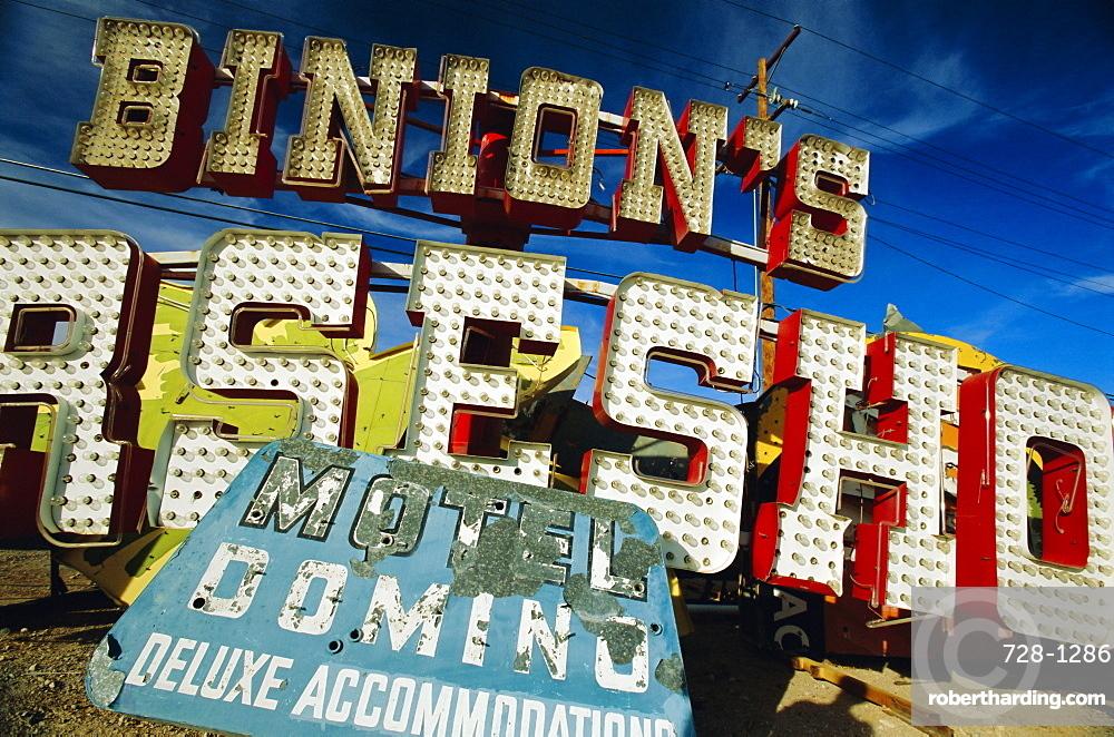 Binions sign, Las Vegas, Nevada, USA