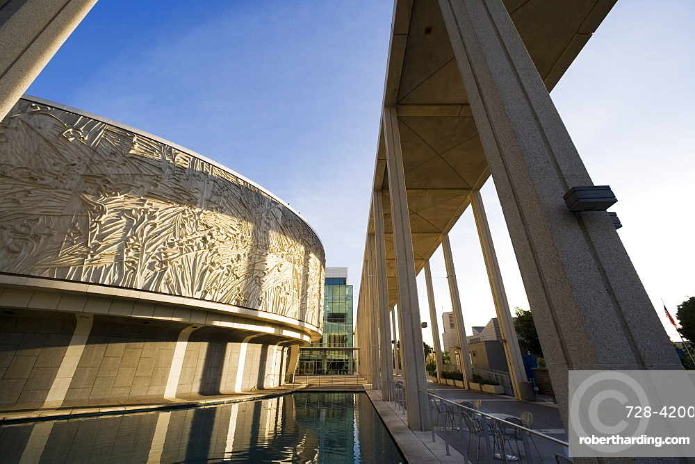 Music Center, Downtown, Los Angeles, California, United States of America, North America