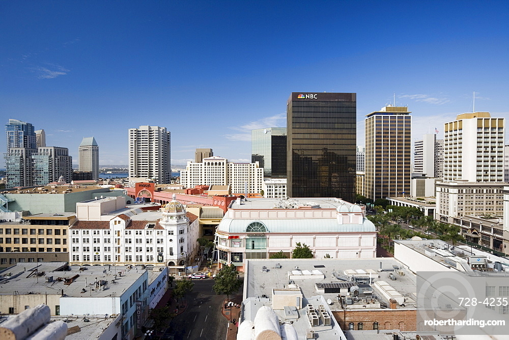 Rooftops of San Diego, California, United States of America, North America