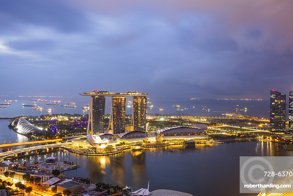 Marina Bay, Singapore, Southeast Asia, Asia