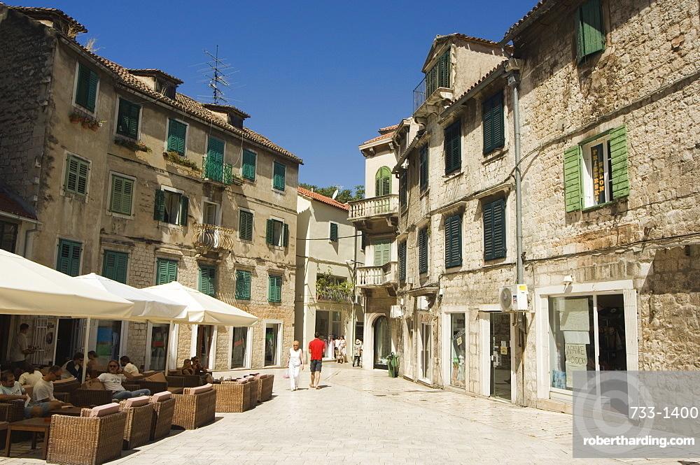 Old Town, Split, Dalmatia, Croatia, Europe