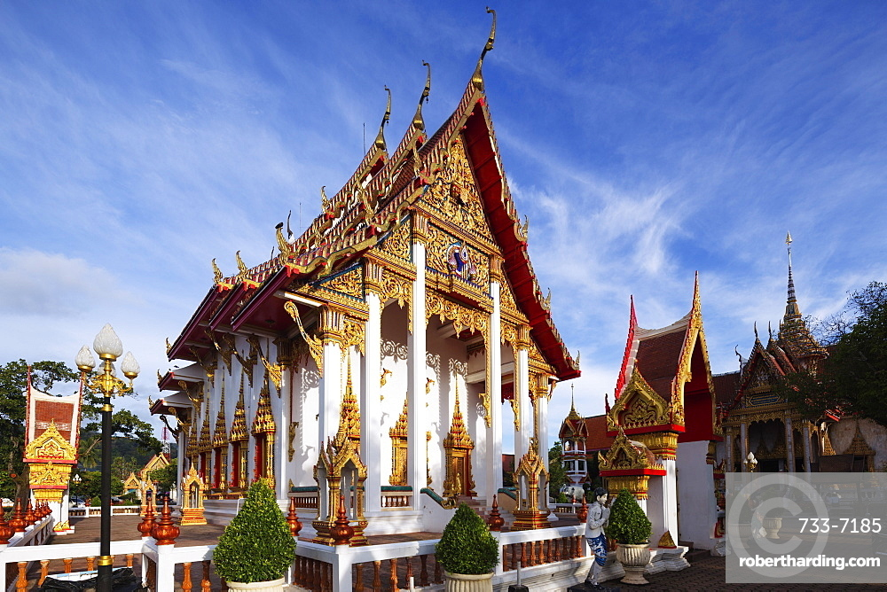Chaithararam Temple, Phuket, Thailand, Southeast Asia, Asia