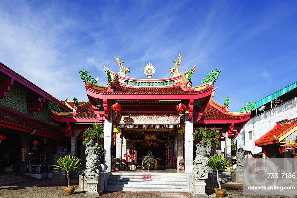 Chinese temple, Phuket, Thailand, Southeast Asia, Asia