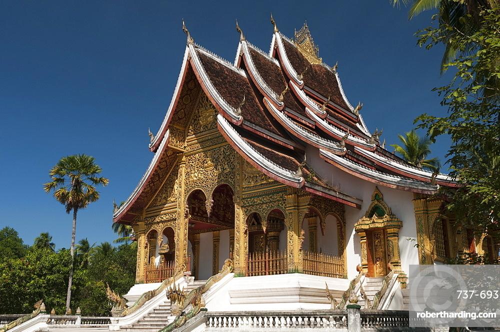 Haw Pha Bang Pavilion at Royal Palace, Luang Prabang, Laos, Indochina, Southeasts Asia, Asia