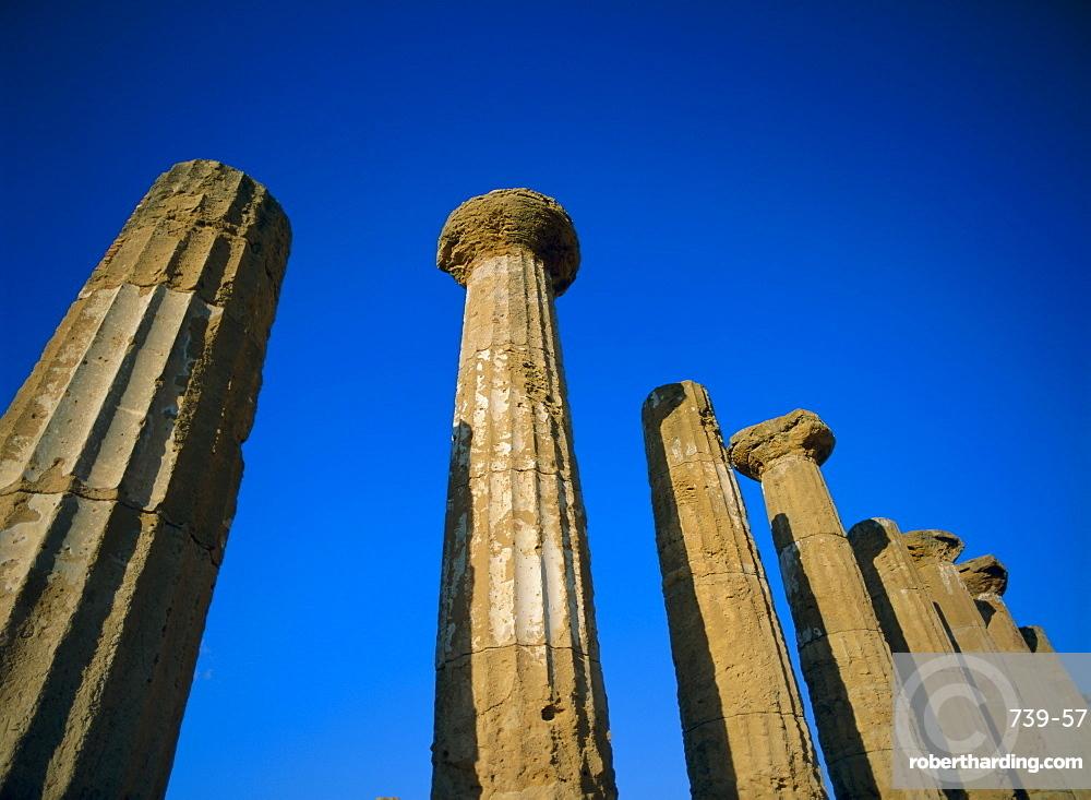 Agrigento, UNESCO World Heritage Site, Sicily, Italy, Mediterranean, Europe