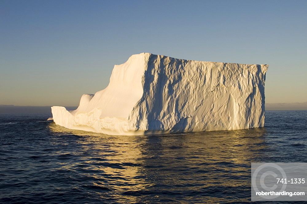 Iceberg on Bransfield Strait, Antarctic Peninsula, Antarctica, Polar Regions