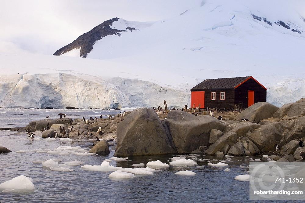 British base, Port Lockroy, Antarctic Peninsula, Antarctica, Polar Regions