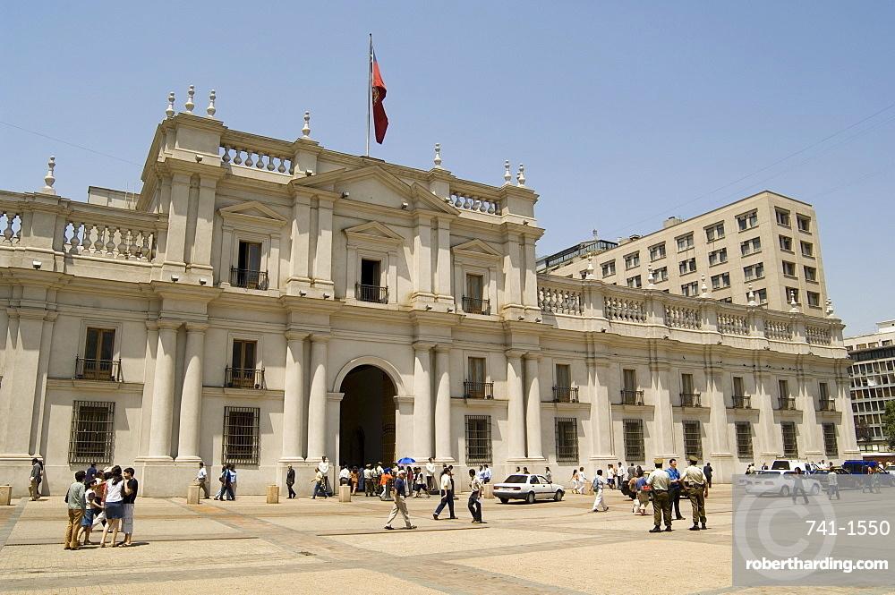 Palacio de la Moneda, Santiago, Chile, South America