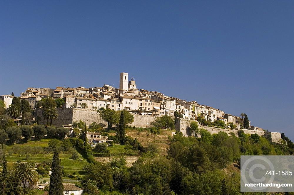 St. Paul de Vence, Alpes Maritimes, Provence, Cote d'Azur, France, Europe