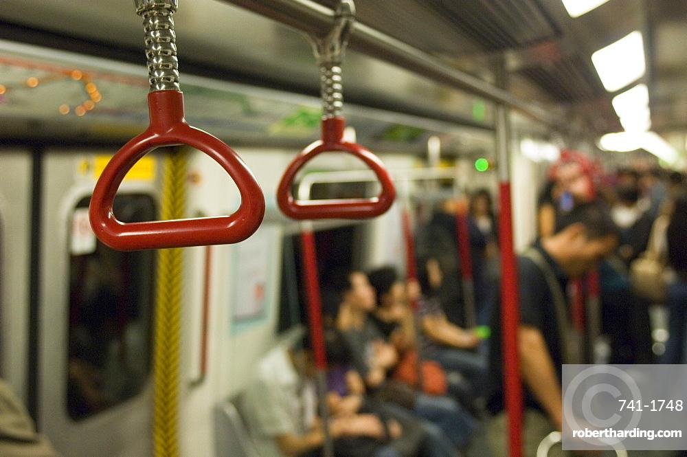 MTR subway, Hong Kong, China, Asia
