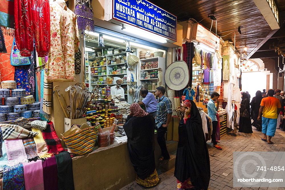 Mutrah souk, Muscat, Oman, Middle East