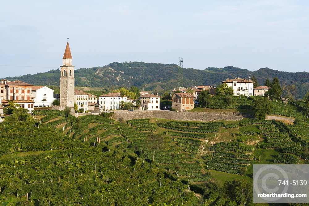 Rolle, Valdobbiadene, Veneto, Italy, Europe