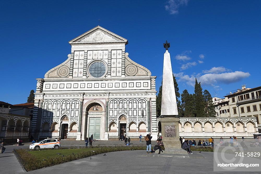 The Church of Santa Maria Novella, Florence, Tuscany, Italy.