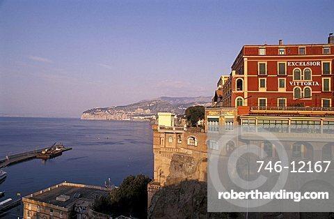 Excelsior Vittoria Hotel, Sorrento, Campania, Italy