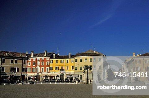 Square, Palmanova, Friuli Venezia Giulia, Italy