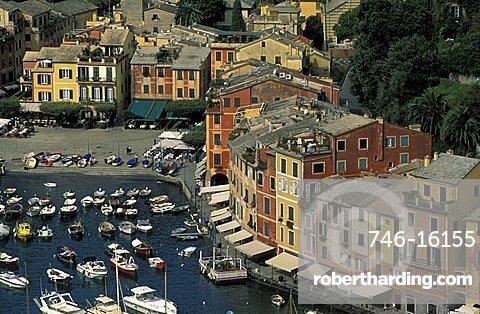 Piazzetta, Portofino, Genoa, Liguria, Italy