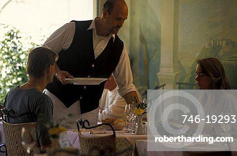 Rovereto hotel and restaurant, Rovereto, Trentino, Italy