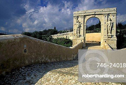 San Alfano bridge, Canicattini Bagni, Sicily, Italy