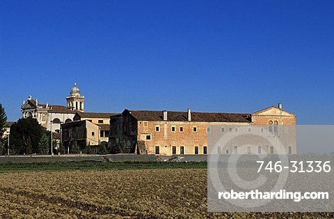The historic body of the town, Carceri d'Este,  Veneto, Italy