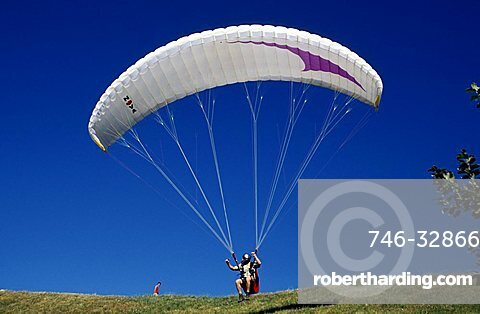 Paraglider, Trentino Alto Adige, Italy