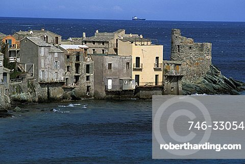 Erbalunga, Capo Corso, Corsica island, France, Europe