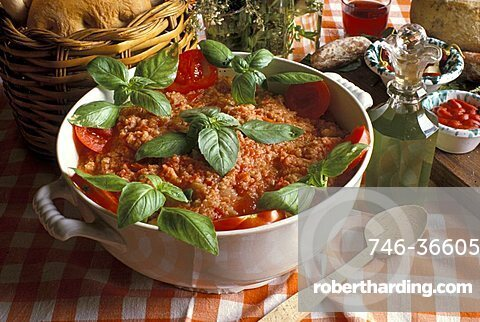 Tomato soup, Italy
