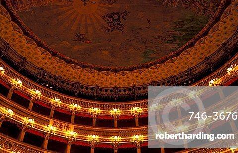 San Carlo theatre, Naples, Campania, Italy
