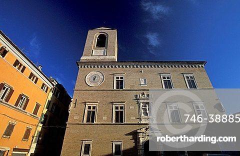 Palazzo Signoria, Jesi, Marche, Italy