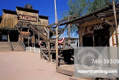 Goldfield ghost town, Arizona, United States of America, North America