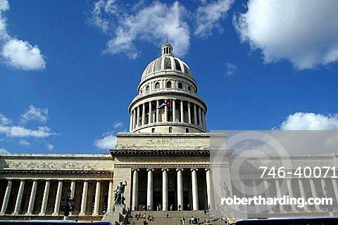 Campidoglio, Plaza de la Revolution, Havana, Cuba, West Indies, Central America
