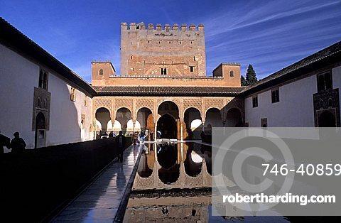 Alhambra, Granada, Autonomous region of Andalusia, Spain, Europe