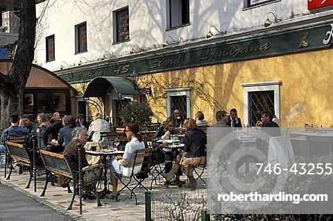 Restaurant, Knafljev prehod, Ljubljana, Slovenia, Europe