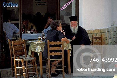 Café, Greece, Europe