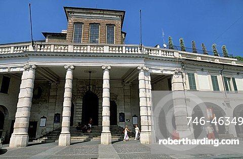 Teatro Grande, Brescia, Lombardy, Italy.