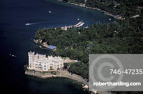Miramare castle, Trieste, Friuli Venezia Giulia, Italy