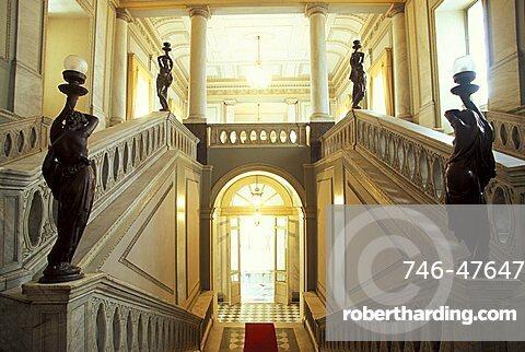 Town hall, Catania, Sicily, Italy