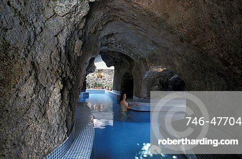 Negombo thermal resort, Ischia, Campania, Italy