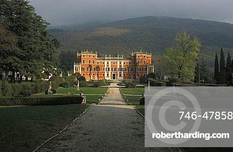 Pellegrini villa, Castione Veronese, Veneto, Italy