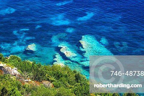 Coast, Santa Maria Navarrese,near Baunei, Ogliastra, Sardinia, Italy, Mediterranean, Europe