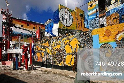 Calle de Hamel, Havana, Cuba, West Indies, Central America
