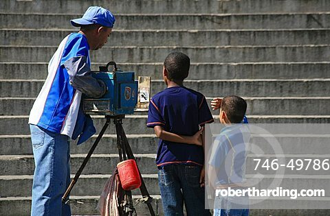 Photographer, Havana, Cuba, West Indies, Central America