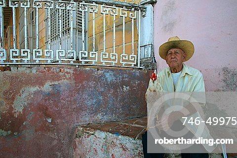 Portrait, Trinidad, Cuba, West Indies, Central America