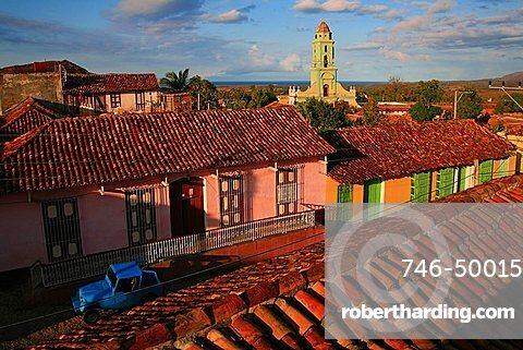 Cityscape, Trinidad, UNESCO World Heritage Site, Cuba, West Indies, Central America